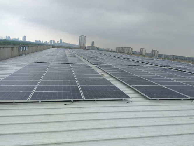 Factory roof PV station (2)